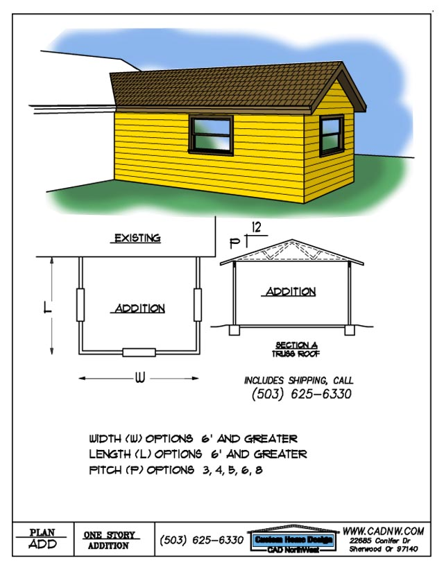 Plans For Room Additions To Homes Floor Plans