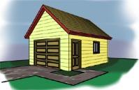 16 X 24 Garage Plans With Loft