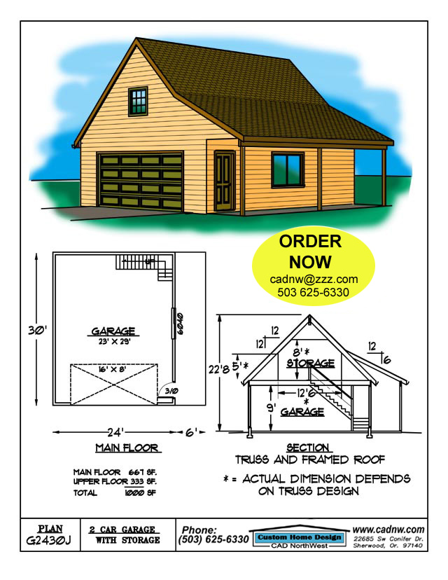 Download Free Garage Plans House Design: free garage blueprints