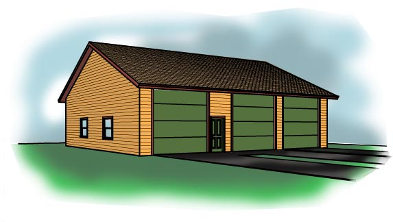 Pole Barn Plans And Pole Building Designs By Cad Northwest
