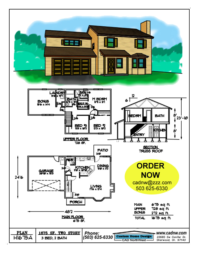1675 SF two story house plan Pacific North House Plans on north central, north california, north seattle, north st. louis county, north lake wisconsin, north america gyre, north europe, north lebanon,